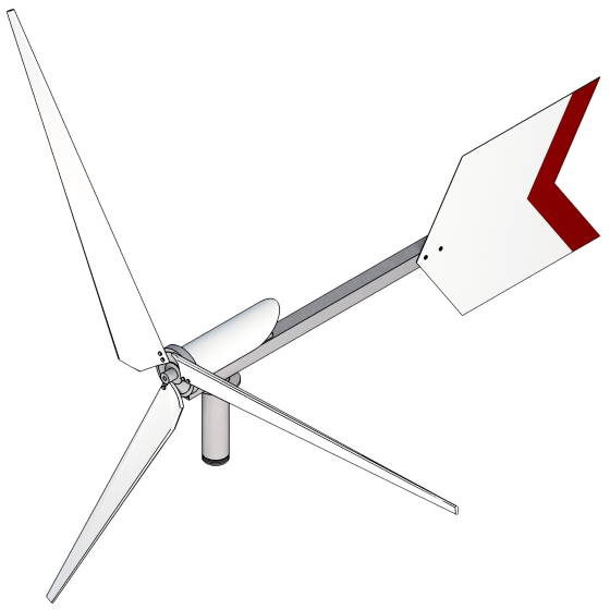 100% Scavenge-able Wind Turbine