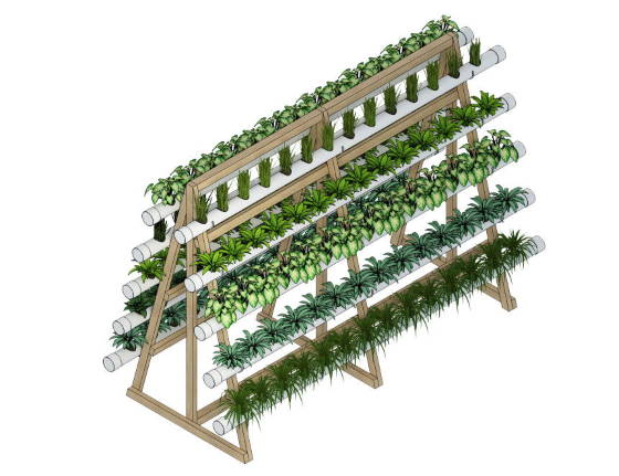 Vertical Outdoor Farm