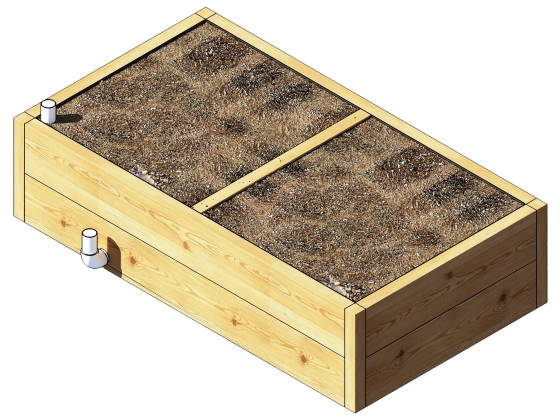 The Raised Wicking Bed